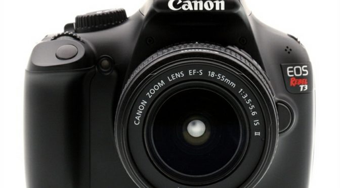 The Canon EOS Rebel T3 – A Professional Quality dSLR Starter Camera