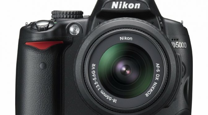 Nikon D5000 – A Photographer's Delight