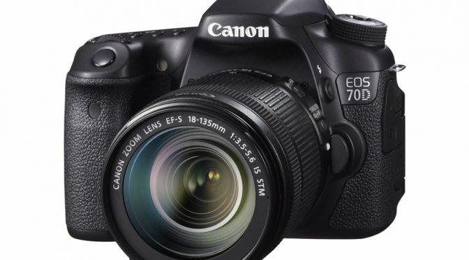 Looking for a High-Tech Camera With 20+ Megapixels? The Canon EOS 70D Gives You Want You Want
