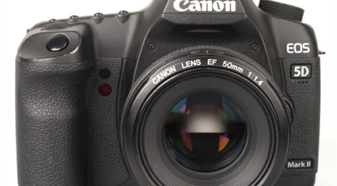 A Must Have: Canon EOS 5D Mark II Camera