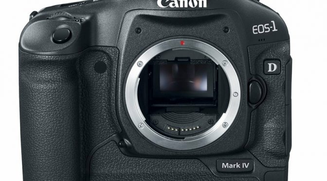 Small Size, Packs a Big Punch – The Canon EOS 1D Mark IV