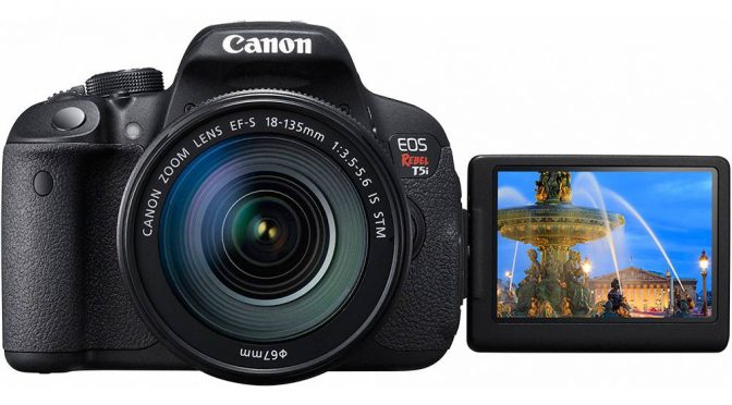 Sleek Design, Powerful Performance – The Canon EOS Rebel T5i