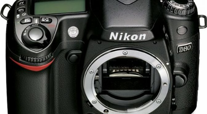 A Refined Look From a Trusted Name Brand – The Nikon D80