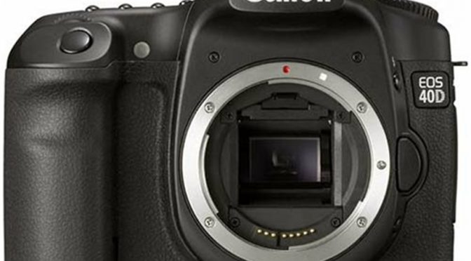 The EPIC Canon EOS 40D: Why This DSLR is Still a Good Buy