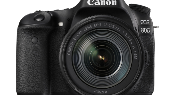 The Canon EOS 80D with CMOS Sensor, Combine Style with Quality