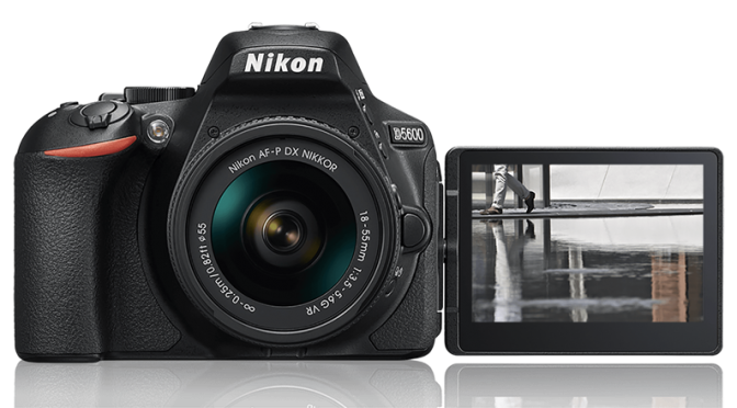 Rock the world of photography with the coveted Nikon D5600 Camera