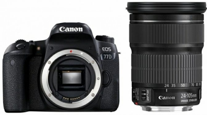 Canon EOS 77D A Refined Piece of Technology