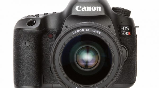 Celebrate Your Photographic Prowess w/ the 50.6 MP Monster Canon 5DS R